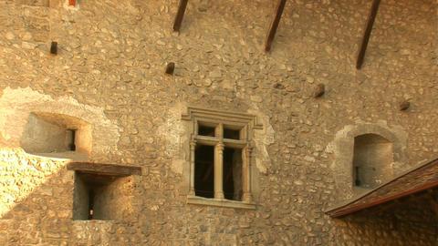 Chillon Castle e Stock Video Footage