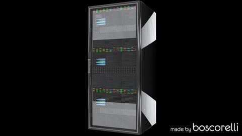 CPU Server Rack Unit 3D model 3D Model
