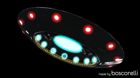 UFO 3D model Modelo 3D