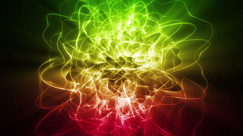 Dynamic Energy Swirl Background Stock Video Footage