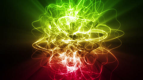 Dynamic Energy Swirl Background Animation