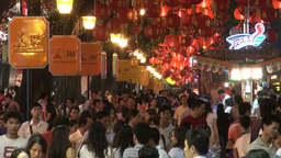 Shopping in China Stock Video Footage