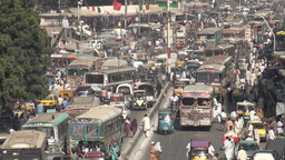 Traffic in Karachi Footage