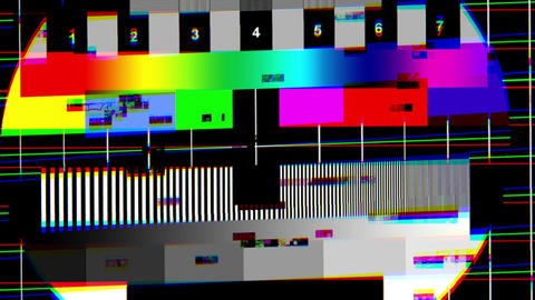 Bad tv 6 Stock Video Footage