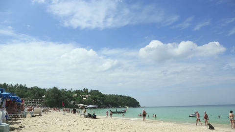 Phuket Beach stock footage