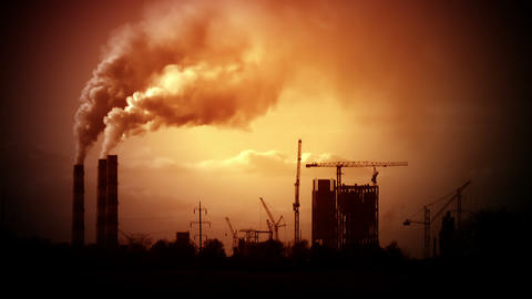 Poor environment Stock Video Footage