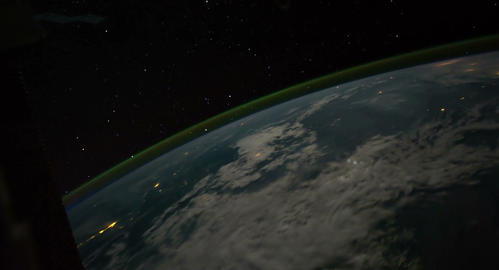 4 K Space Station 11 Philippines Stock Video Footage