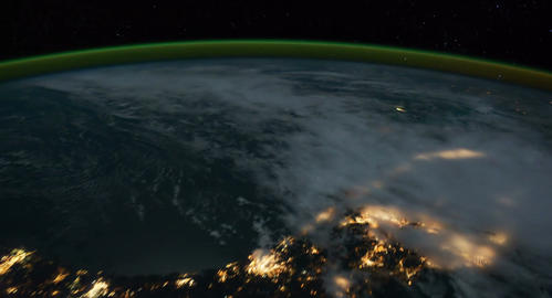 4 K Space Station 13 USA Stock Video Footage