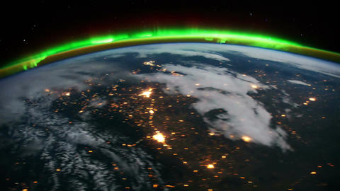 Space Station 16 USA Stock Video Footage