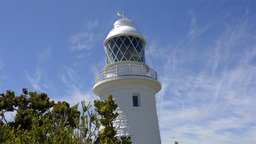 The Cape Naturaliste Lighthouse in Western Australia Stock Video Footage