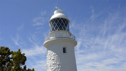 The Cape Naturaliste Lighthouse in Western Australia Footage