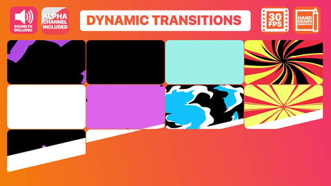 Dynamic Transitions Apple Motion Template