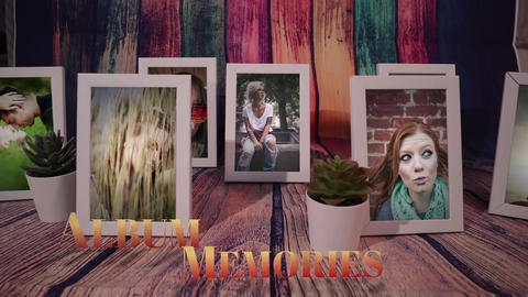 Framed Memories After Effects Template