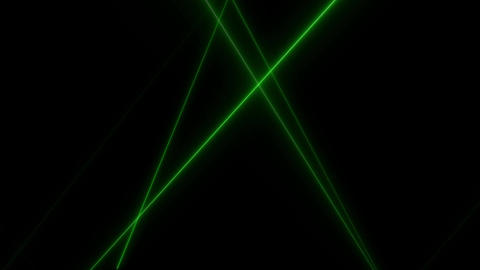 Live performance style of effects that narrow green light is repeatedly blinking and flickering Animation