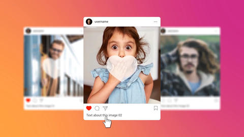 Instagram Promotion After Effects Template