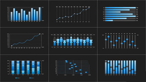 Infographic Charts After Effects Template