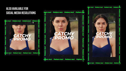 Catchy Promo After Effects Template