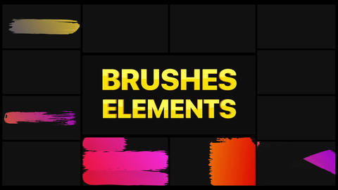 Brushes Pack 02 After Effects Template