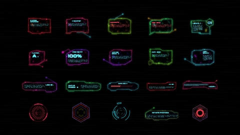 HUD Interface After Effects Template