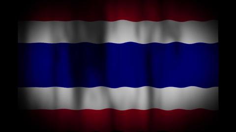 タイの国旗 CG動画