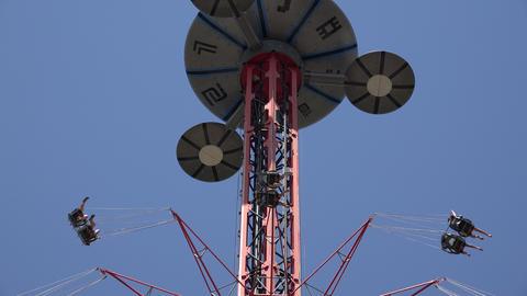 Amusement Park Thrill Rides Live Action