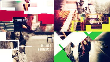 Minimal Promo /Creative Transitions /Picture Presentation After Effects Template
