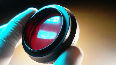 Camera Filter Stock Video Footage