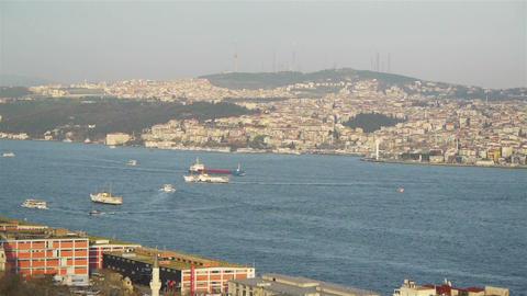 Istanbul city, Turkey Stock Video Footage
