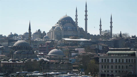 Istanbul city, Turkey Stock Video Footage