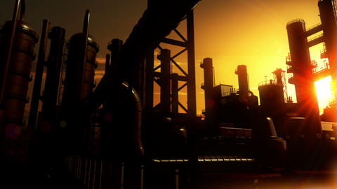 Chemical Plant Animation
