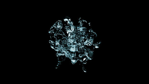 water splash Stock Video Footage