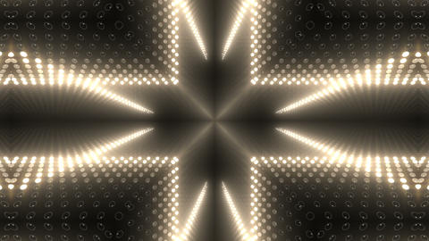 LED Kaleidoscope Wall 2 W Db M 1 HD Stock Video Footage