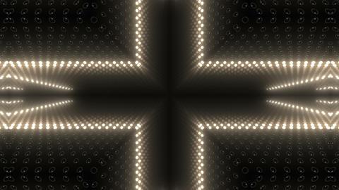 LED Kaleidoscope Wall 2 W Db M 1 HD Stock Video Footage