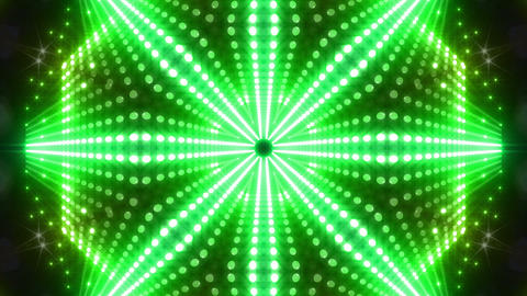 LED Kaleidoscope Wall 2 W Db M 2 HD Stock Video Footage