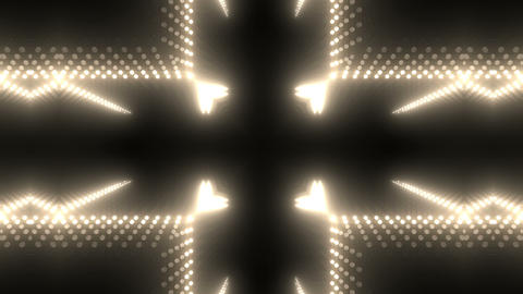LED Kaleidoscope Wall 2 W Db M 3 HD stock footage