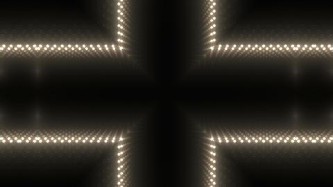 LED Kaleidoscope Wall 2 W Db M 3 HD Stock Video Footage