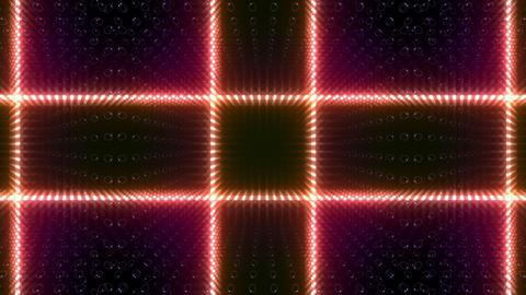 LED Kaleidoscope Wall 2 W Db O 2 HD Stock Video Footage