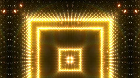 LED Kaleidoscope Wall 2 W Db O 3 HD Stock Video Footage