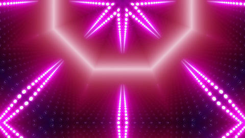 LED Kaleidoscope Wall 2 W Db Y 1 HD Stock Video Footage