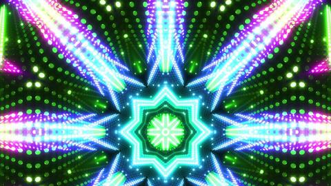 LED Kaleidoscope Wall 2 W Db Y 3 HD CG動画