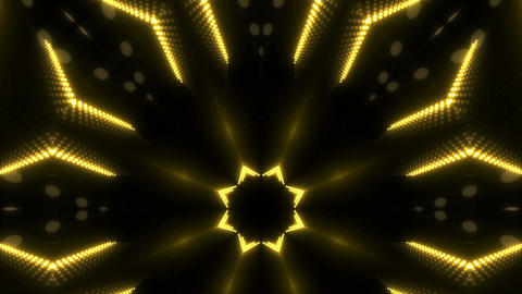 LED Kaleidoscope Wall 2 W Db Y 4 HD Stock Video Footage