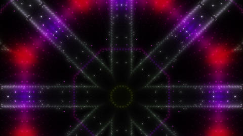 LED Kaleidoscope Wall 2 W Ds M 1g HD Stock Video Footage