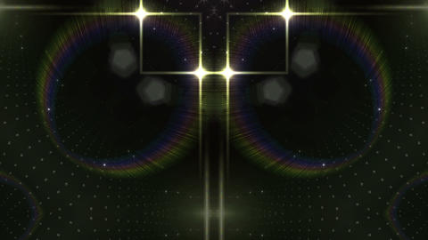 LED Kaleidoscope Wall 2 W Ds O 1 HD Stock Video Footage