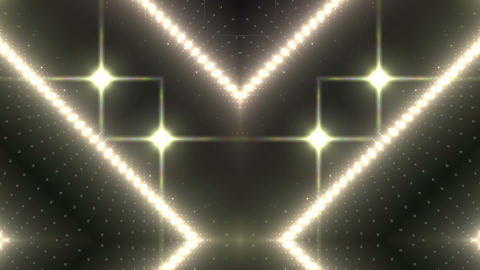 LED Kaleidoscope Wall 2 W Ds O 1 HD Stock Video Footage