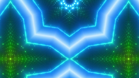 LED Kaleidoscope Wall 2 W Ds O 2g HD Stock Video Footage