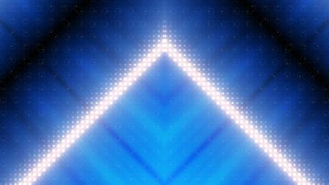 LED Kaleidoscope Wall 2 W Hb Mg HD Stock Video Footage