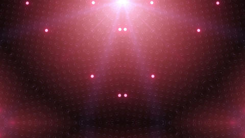 LED Kaleidoscope Wall 2 W Hb Tg HD Stock Video Footage
