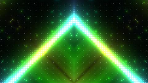 LED Kaleidoscope Wall 2 W Hs Mg HD Stock Video Footage