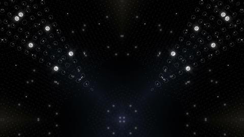 LED Kaleidoscope Wall 2 W Ib Wg HD Stock Video Footage