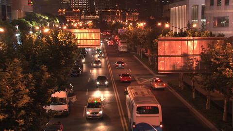 Shanghai street Footage